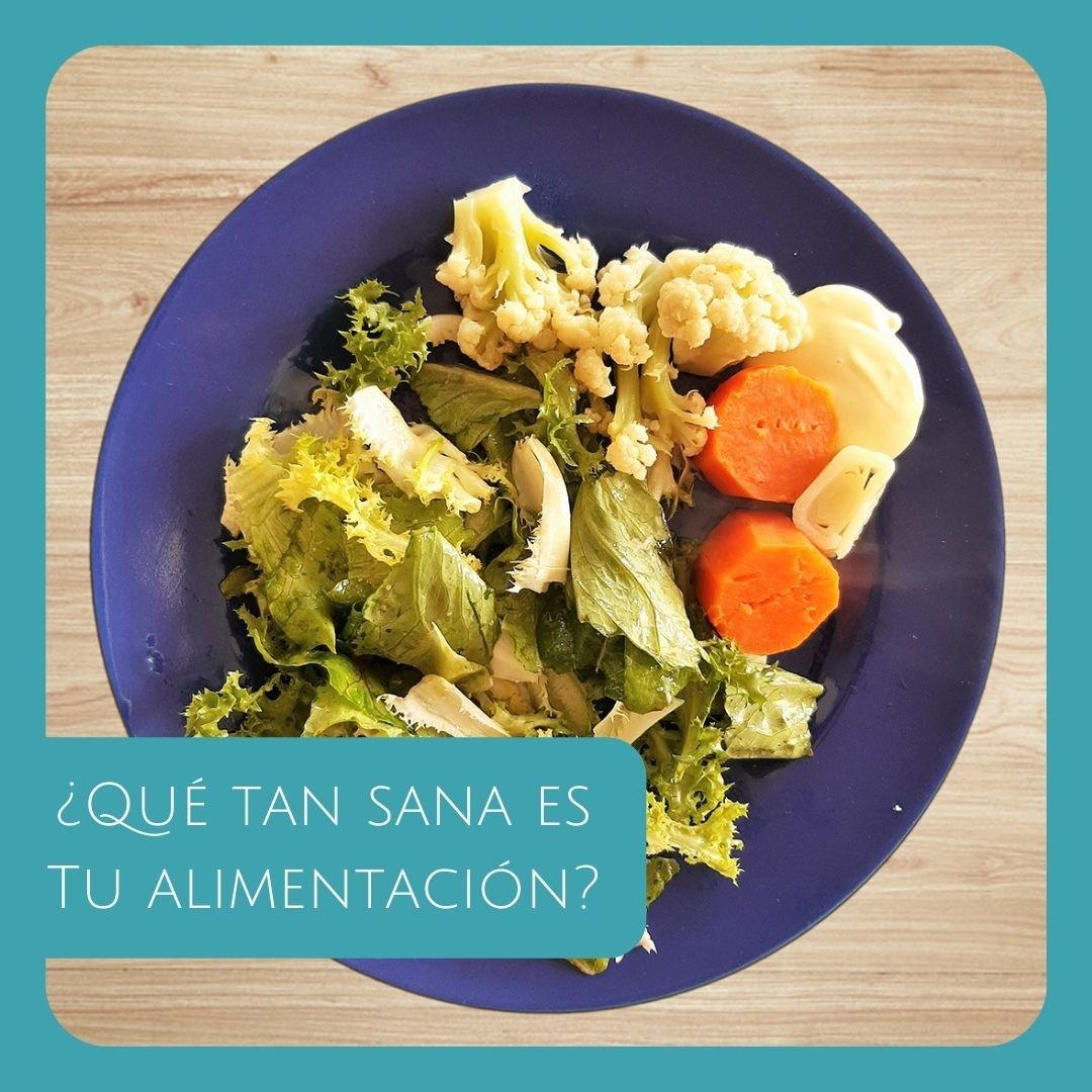 ¿Qué tan sana es tu alimentación?